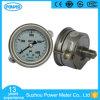 mesure de contre-pression de l'acier inoxydable En837-1 de 60mm avec le pétrole