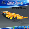Cheap 40ft 3 Axles Skeleton Semi Container Trailer Chassis