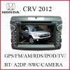 Radio de la voiture DVD pour Honda CRV 2012
