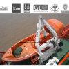 Bote de salvamento anaranjado del agua de la fibra de vidrio del color (R60)