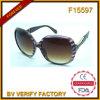 Gafas de sol polarizadas Ce de las mujeres del diseño UV400 de F15597 Italia