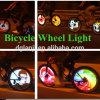プログラム可能な車輪ライト128 LED自転車の車輪ライト
