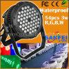 IL LED IP65 54PCS*1W esterno impermeabilizza la luce PAR del LED