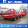 60ton -100ton 3axle 4axle Low Bed Semi-Trailer em Sale