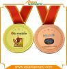 Medalla del metal del deporte de la alta calidad con el esmalte duro