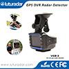 Plein-Bandes de détecteur de radar du véhicule GPS de l'enregistreur vidéo Vgr-3 de l'appareil-photo DVR de véhicule du manuel de l'utilisateur HD 720p