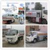 Vrachtwagen 3cbm van de Tanker van de Brandstof van de Ruwe olie van de Tankwagen van het Vervoer van de Olie van Foton 4X2 Van brandstof voorziende Vrachtwagen