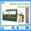 Máquina de la prensa hidráulica para el marco de puerta