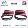 Fördernder Geschenk-SilikonWristband mit Debossed Firmenzeichen