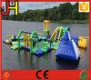 Wasser-Park-Spiel, aufblasbares Wasser-sich hin- und herbewegender Park, See-Wasser-Park