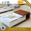 Petite table basse en bois latérale de thé de modèle de mode des meubles $35 (HX-CT017)