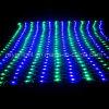 Una rete esterna di due colori illumina gli indicatori luminosi della decorazione del giardino del LED