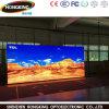 A elevação refresca a parede interna cheia do vídeo da visualização óptica de cor P2.5