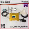 2017 nuevo aumentador de presión móvil de la señal del diseño 2g 3G 4G GSM/Dcs 900/1800MHz con la antena del Yagi