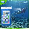 Poche imperméable à l'eau de téléphone mobile de PVC, téléphones cellulaires imperméables à l'eau de natation de sac sec de boussole, sac imperméable à l'eau