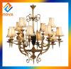 青銅色の終了する省エネの光源の吊り下げ式のシャンデリアの照明ランプ