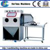 Piccola macchina manuale di sabbiatura della muffa di Turnable e di Workcar