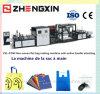 Populärer nichtgewebter flacher Beutel, der Maschine Zxl-D700 herstellt
