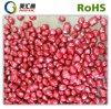 Masterbatch HDPE reciclado gránulos de color rojo