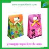 Saco superior do papel de embalagem do saco da impressão do saco de Tote da aba