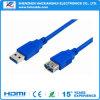 Dados rápidos que transferem o cabo de extensão USB3.0