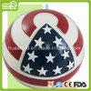 Brinquedos do animal de estimação do vinil da impressão da bandeira americana