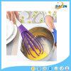 Frullino per le uova rotativo del frullino per le uova del silicone multifunzionale