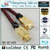 Кабель раковины HDMI металла высокой эффективности 2.0V 4k M/M
