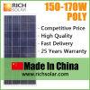 sistema solare di energia solare del modulo del silicone di 160W 12V Polycystalline