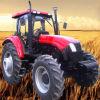 4 Rad-Laufwerk, großes landwirtschaftliches Gerät fahrbarer Landwirtschaft-Traktor