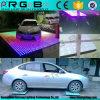 Boda del partido del disco 61 * 61 cm Efecto RGB impermeable LED Pista de baile