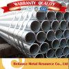 Acero galvanizado pared fina soldado ERW tubo de 6 pulgadas