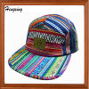Цвет Striped шлем Snapback 5 панелей