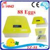 Mini incubateur automatique bon marché d'oeufs de poulet pour 88 oeufs (YZ-88)