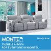 ホーム家具、革リクライニングチェアのソファー、現代ソファーセット