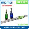 El Hottest LED Atomizer Big Capacity 5ml CE8 Vaporizer Wholesale Price