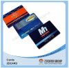Прозрачный напечатанный пластичный членский билет визитной карточки