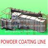 Línea de capa automática electrostática del polvo para las guarniciones pesadas