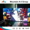 Publicidad de interior de la tarjeta de pantalla de la pantalla de la muestra de P4 LED