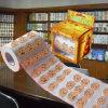 Veille de la toussaint a estampé le tissu de salle de bains de Hallowmas de papier de toilette