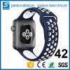 Cinta de relógio feita sob encomenda por atacado de Alibaba do projeto 2016 novo para a faixa do esporte do relógio de Apple