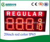 Diodo emissor de luz Price Regular Sign de Hidly 20inch Red Color (GAS20ZR8889/10TB)