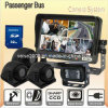 CCD Camerasとの乗客Bus Quad DVR Rearview System