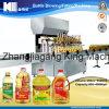 Máquina de rellenar del tarro del aceite de mesa de la botella de cristal