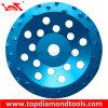三重の列PCDの粉砕のコップの車輪