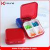 Пластичная квадратная коробка пилюльки (KL-9062)
