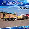Tri-Axles Low Bed Truck Trailer for Semi Trailer Type