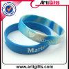 Wristband di gomma impermeabile del silicone di modo