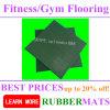 Gummifußboden-Stücke, Fliese, Rolls, Matten, die für Gymnastik-Eignung ausbreiten