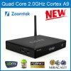 Zoomtak-M8 casella Android di Quadrato-Memoria TV